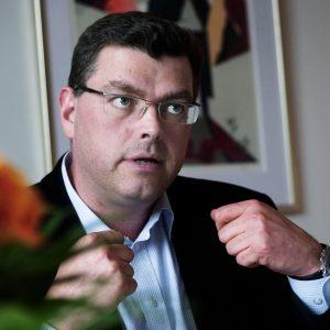 Foreningens formand, Mogens Jensen, er sikker på genvalg til maj, idet ingen modkandidater har meldt sig inden fristens udløb. Foto: Anders Birch, polfoto.